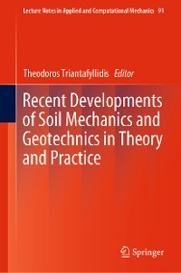 Cover Recent Developments of Soil Mechanics and Geotechnics in Theory and Practice