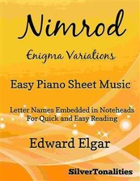 Cover Nimrod Enigma Variations Easy Piano Sheet Music