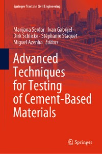 Cover Advanced Techniques for Testing of Cement-Based Materials