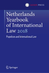 Cover Netherlands Yearbook of International Law 2018