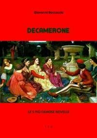 Cover Decamerone. Le 5 più famose novelle