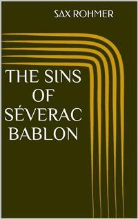 Cover The Sins of Séverac Bablon