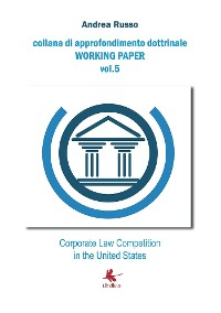 Cover Corporate Law Competition in the United States