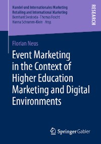 Cover Event Marketing in the Context of Higher Education Marketing and Digital Environments