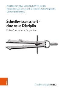 Cover Schreibwissenschaft - eine neue Disziplin