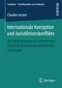 Cover Internationale Korruption und Jurisdiktionskonflikte