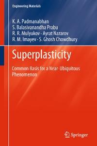 Cover Superplasticity