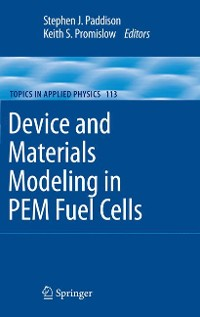 Cover Device and Materials Modeling in PEM Fuel Cells