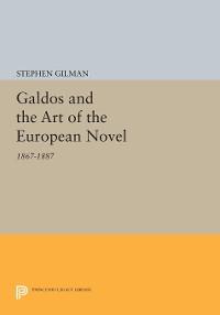 Cover Galdos and the Art of the European Novel
