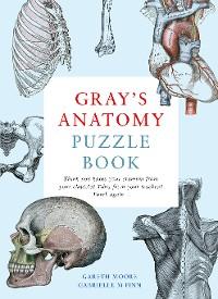 Cover Gray's Anatomy Puzzle Book