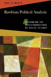 Cover Rawlsian Political Analysis
