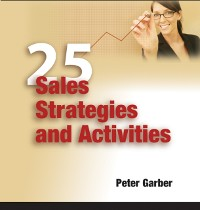 Cover 25 Sales Strategies and Activities