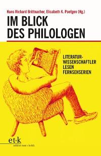 Cover Im Blick des Philologen