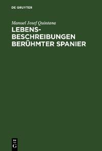 Cover Lebensbeschreibungen berühmter Spanier