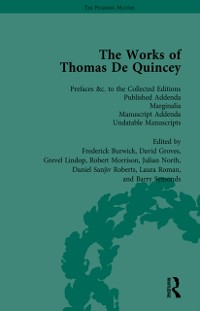 Cover Works of Thomas De Quincey, Part III vol 20