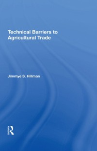 Cover Technical Barriers To Agricultural Trade