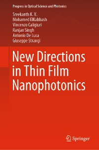 Cover New Directions in Thin Film Nanophotonics