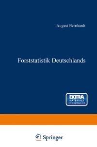 Cover Forststatistik Deutschlands