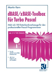 Cover dBASE / xBASE-Toolbox fur Turbo Pascal
