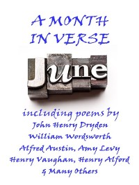 Cover June, A Month in Verse