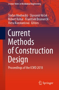 Cover Current Methods of Construction Design