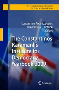 Cover The Constantinos Karamanlis Institute for Democracy Yearbook 2009