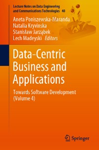 Cover Data-Centric Business and Applications