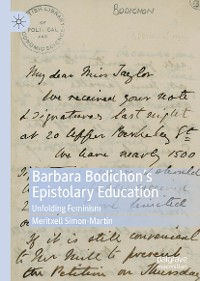 Cover Barbara Bodichon's Epistolary Education