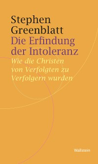 Cover Die Erfindung der Intoleranz
