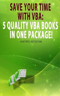 Cover VBA Bible: Save Your Time with VBA