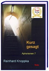 Cover kurz gesagt: Aphorismen 7