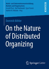 Cover On the Nature of Distributed Organizing