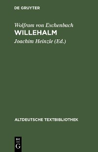 Cover Willehalm