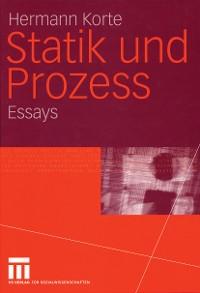 Cover Statik und Prozess