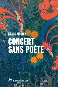 Cover Concert sans poète