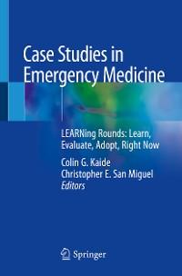 Cover Case Studies in Emergency Medicine