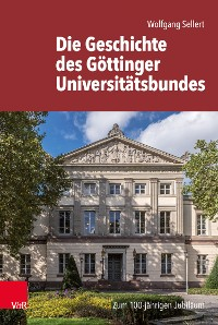 Cover Die Geschichte des Göttinger Universitätsbundes