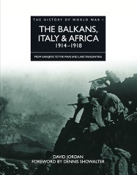 Cover Balkans, Italy & Africa 1914-1918