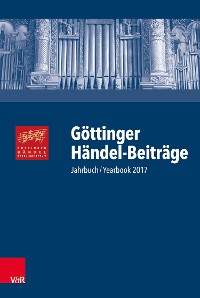 Cover Göttinger Händel-Beiträge, Band 18