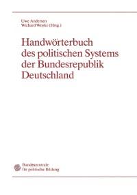 Cover Handworterbuch des politischen Systems der Bundesrepublik Deutschland