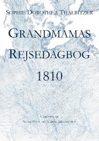 Cover Grandmamas Rejsedagbog 1810