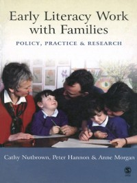 Cover Early Literacy Work with Families