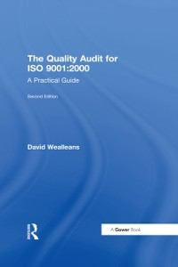 Cover Quality Audit for ISO 9001:2000