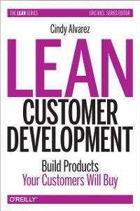 Cover Lean Customer Development