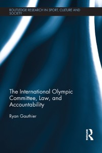 Cover International Olympic Committee, Law, and Accountability