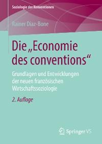 """Cover Die """"Economie des conventions"""""""