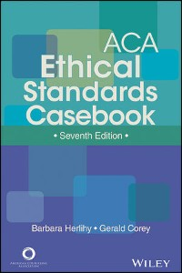 Cover ACA Ethical Standards Casebook