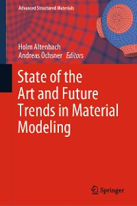 Cover State of the Art and Future Trends in Material Modeling