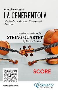 Cover La Cenerentola (overture) String Quartet - Score