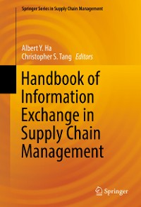 Cover Handbook of Information Exchange in Supply Chain Management